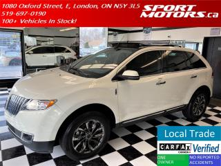 Used 2012 Lincoln MKX AWD+GPS+Camera+PanoRoof+CooledSeats+Accident Free+ for sale in London, ON