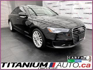 Used 2016 Audi A6 Technik+360 Camera+GPS+Cooled Seats+Blind Spot+XM+ for sale in London, ON