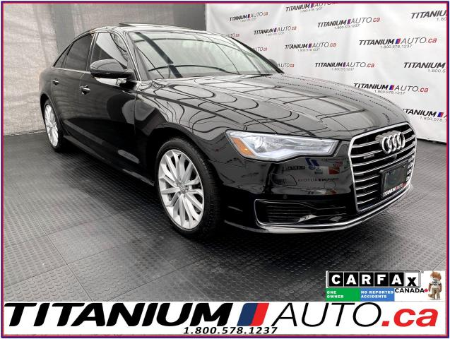 2016 Audi A6 Technik+360 Camera+GPS+Cooled Seats+Blind Spot+XM+