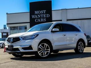 Used 2017 Acura MDX SH-AWD 9-Spd|NAV|CAMERA|BLIND|LKA|LDW|ACC|COLLISION for sale in Kitchener, ON