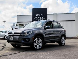Used 2016 Volkswagen Tiguan COMFORTLINE|ROOF|CAMERA|LEATHER|TOUCHSCREEN for sale in Kitchener, ON