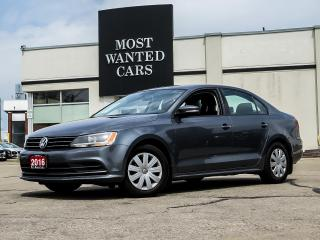 Used 2016 Volkswagen Jetta 1.4T TRENDLINE|HEATED SEATS|CAMERA|TOUCHSCREEN for sale in Kitchener, ON