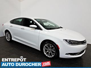 Used 2015 Chrysler 200 C AWD NAVIGATION  A/C -Sièges et Volant Chauffants for sale in Laval, QC