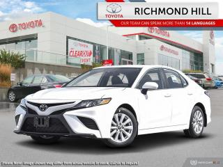 New 2020 Toyota Camry SE  - Paddle Shifters -  Sporty Styling - $105.61 /Wk for sale in Richmond Hill, ON