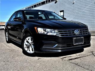 Used 2018 Volkswagen Passat TRENDLINE|HEATED SEATS|CRUISE CONTROL|REAR VIEW|ALLOYS! for sale in Brampton, ON