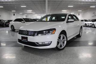 Used 2013 Volkswagen Passat TDI I LEATHER I SUNROOF I HEATED SEATS I KEYLESS ENTRY for sale in Mississauga, ON