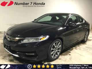 Used 2017 Honda Accord Touring| Loaded| Leather| Navi| for sale in Woodbridge, ON