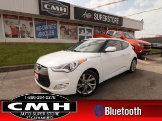 Used 2016 Hyundai Veloster SE  MANUAL CAM BT HS PARK-SENS ALLOYS for sale in St. Catharines, ON