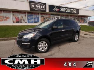 Used 2017 Chevrolet Traverse LS  AWD CAM TOUCH 8-PASS REAR-AC BT for sale in St. Catharines, ON