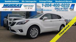 Used 2019 Buick Envision AWD *FWD Collision* *Lane Change* *Nav* *Backup Ca for sale in Brandon, MB