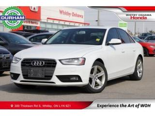 Used 2014 Audi A4 Progressiv for sale in Whitby, ON