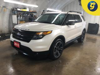 Used 2015 Ford Explorer 4WD * Navigation * Dual Panel Moonroof Power Sunshade * Leather * 7 passenger * Ford SYNC Microsoft *  Remote start* Rear parking assist * Blind spot for sale in Cambridge, ON