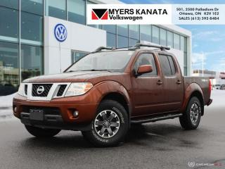 Used 2016 Nissan Frontier PRO-4X  - Navigation -  Bluetooth for sale in Kanata, ON