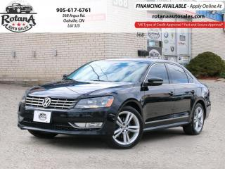 Used 2014 Volkswagen Passat 4dr Sdn 2.0 TDI _NAVI_REAR CAMERA_BLUETOOTH for sale in Oakville, ON