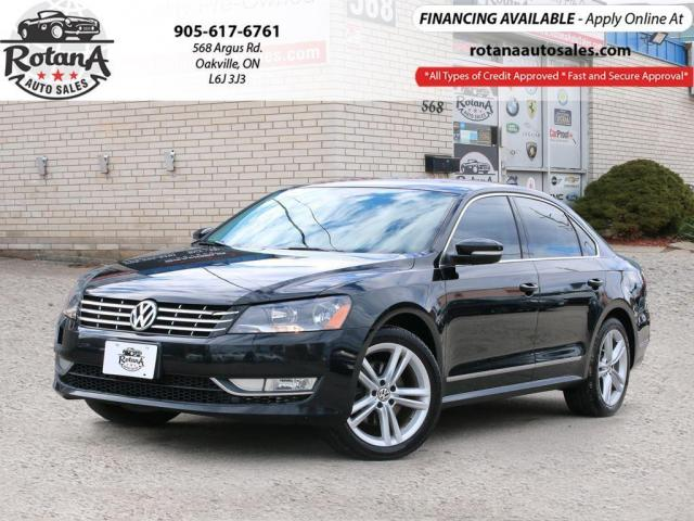 2014 Volkswagen Passat 4dr Sdn 2.0 TDI _NAVI_REAR CAMERA_BLUETOOTH