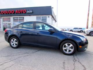 Used 2011 Chevrolet Cruze 1LT TURBO AUTO BLUETOOTH CERTIFIED 2YR WARANTY for sale in Milton, ON