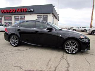Used 2016 Lexus IS 350 AWD F-SPORT 2 Navigation Camera Certified for sale in Milton, ON
