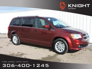 New 2020 Dodge Grand Caravan Premium Plus 2WD | Leatherette Heated Seats &Steering Wheel | DVD | NAV | Remote Start | Back-up Cam for sale in Weyburn, SK