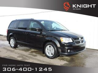 New 2020 Dodge Grand Caravan Crew 2WD | Heated Seats & Steering Wheel | DVD | Back-up Camera for sale in Weyburn, SK
