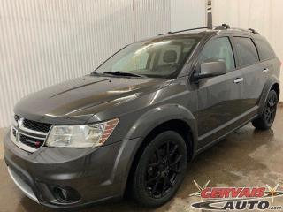 Used 2016 Dodge Journey RT AWD V6 GPS DVD Cuir Toit Ouvrant Mags PNEU NEUF **7 Passagers** for sale in Trois-Rivières, QC