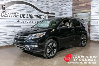 Used 2016 Honda CR-V TOURING - TOIT+MAGS+CUIR+GPS+AWD+BLUETHOOT+USB for sale in Laval, QC