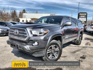 Used 2017 Toyota Tacoma TRD Sport UPGRADE PACKAGE  RARE 6 SPD  ROOF  NAVI for sale in Ottawa, ON