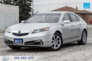 Used 2013 Acura TL TechPkg|FWD|Clean Carfax|Leather|Navi|Keyless for sale in Bolton, ON