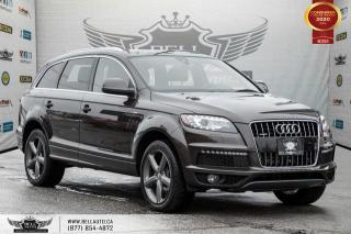 Used 2015 Audi Q7 3.0T Vorsprung Edition, NO ACCIDENT, AWD, V6, 7 PASS, NAVI, REAR CAM for sale in Toronto, ON
