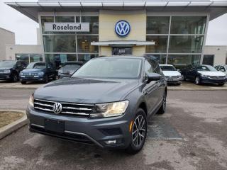 Used 2018 Volkswagen Tiguan Comfortline 4dr AWD 4MOTION for sale in Burlington, ON