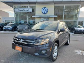 Used 2016 Volkswagen Tiguan Trendline 4dr FWD Sport Utility for sale in Burlington, ON