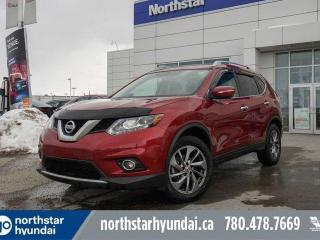 Used 2015 Nissan Rogue SL AWD/LEATHER/SUNROOF/NAV/ for sale in Edmonton, AB