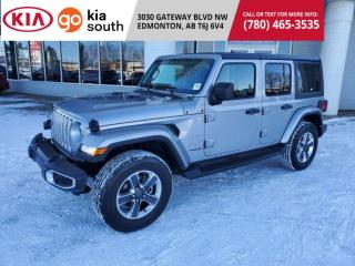 Used 2019 Jeep Wrangler Unlimited 3 MNTHS NO PYMNTS SAHARA 4WD HARDTOP BACKUP CAM BLUETOOTH JL for sale in Edmonton, AB