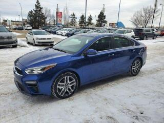New 2020 Kia Forte EX PREM AT; ADVANCED SAFTEY, BLUETOOTH, SUNROOF, BACKUP CAMERA, ANDROID AUTO/ APPLE CARPLAY AND MORE for sale in Edmonton, AB