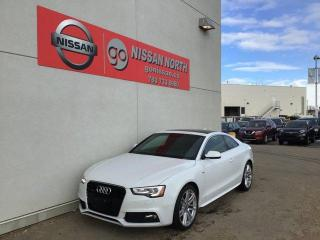 Used 2017 Audi A5 Technik 2dr AWD quattro Coupe - S LINE! for sale in Edmonton, AB