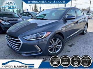 Used 2017 Hyundai Elantra GL, VOLANT CHAUFFANT, BLUETOOTH, CAMERA for sale in Blainville, QC