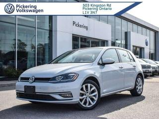 Used 2018 Volkswagen Golf HIGHLINE! LOADED! LEATHER + ROOF + NAV! for sale in Pickering, ON