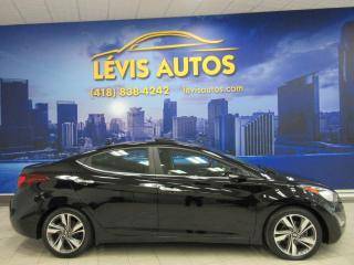 Used 2016 Hyundai Elantra LIMITED 52900KM AUTOMATIQUE CUIR/ TOIT/ for sale in Lévis, QC