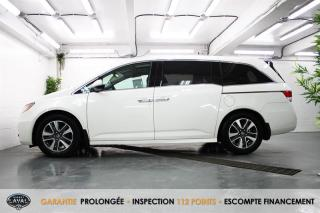 Used 2016 Honda Odyssey Touring + Balayeuse + GPS + 8 Places for sale in Québec, QC