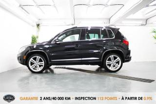 Used 2016 Volkswagen Tiguan 4MOTION Highline R line + Keyless + HID for sale in Québec, QC