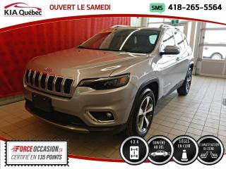 Used 2019 Jeep Cherokee LIMITED* 4X4* CUIR* HAYON ELECTRIQUE* for sale in Québec, QC