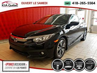 Used 2017 Honda Civic EX* TURBO* TOIT* CAMERA* HONDA SENSING* for sale in Québec, QC