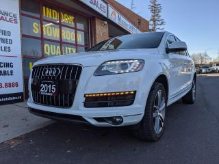 Used 2015 Audi Q7 CLEARANCE - TDI PROGRESSIV QUATTRO - NAV for sale in Burlington, ON