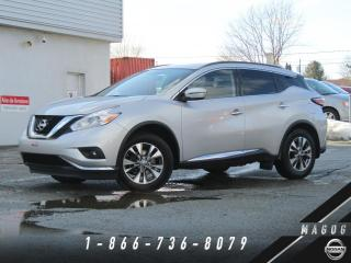 Used 2017 Nissan Murano SV AWD + NAV + TOIT + CAMÉRA + MAGS! for sale in Magog, QC