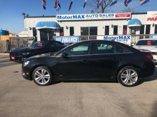 Used 2014 Chevrolet Cruze LT2-RS-LTHR-WE FINANCE for sale in Stoney Creek, ON