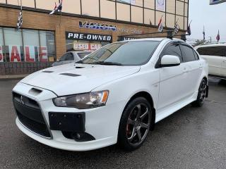 Used 2014 Mitsubishi Lancer 4dr Sdn TC-SST Ralliart AWD for sale in North York, ON