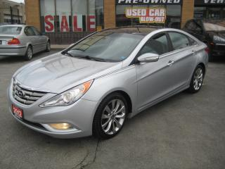 Used 2012 Hyundai Sonata 4dr Sdn 2.0T Auto Limited w-NavI for sale in North York, ON