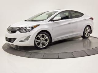 Used 2014 Hyundai Elantra LIMITED TOIT OUVRANT CUIR SIÈGES CHAUFFANTS for sale in Brossard, QC