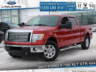 Used 2011 Ford F-150 XLT XTR ** BLUETOOTH*A/C*CRUISE*GROUPE ELECT.** for sale in Victoriaville, QC