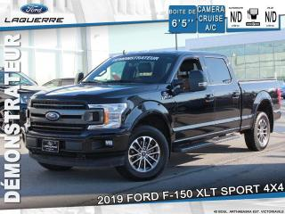 Used 2019 Ford F-150 XLT SPORT 302A DEMO for sale in Victoriaville, QC