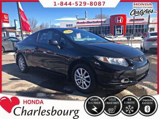 Used 2013 Honda Civic LX**AUTOMATIQUE*COUPE*UN PROPRIÉTAIRE* for sale in Charlesbourg, QC